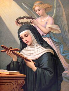 St. Rita of Cascia--patron saint of impossible causes. I could use some help from her right now...