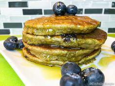 Cinfully Simple :: Blueberry Avocado Paleo Pancakes gluten free, vegetarian