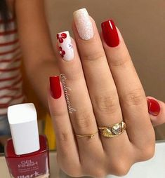 Nageldesign The image may contain: one or more people and foreground Wedding Invitations Without Bre Colorful Nail Designs, Acrylic Nail Designs, Nail Art Designs, Cute Acrylic Nails, Cute Nails, Pretty Nails, Pretty Makeup, Perfect Nails, Gorgeous Nails