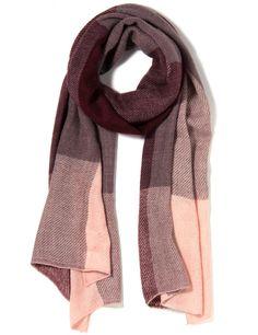Vergroot - Roze sjaal