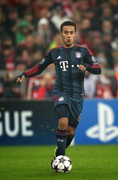 Thiago Alcantara of FC Bayern Munich