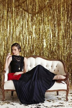 Ruche holiday look book with Found Vintage Rentals