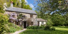 Self catering cottages in the outstanding Gara Valley in Devon. Watermill Cottages, your dog friendly get away from it all Devon holiday destination. Devon Holidays, South Facing Garden, Family Friendly Holidays, Stone Cottages, Self Catering Cottages, South Devon, Dartmouth, Garden Fencing, Bloomsbury