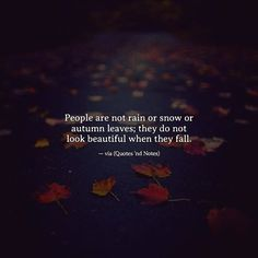 People are not rain or snow or autumn leaves.. via (http://ift.tt/2wNMYeK)