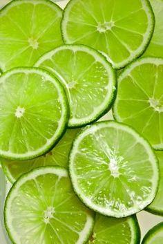 Lime-groen: limoen.