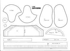 Carina,s Pysselsida: Converse