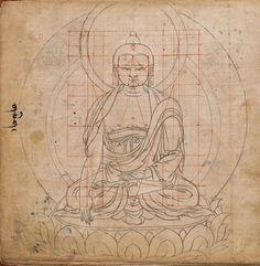 """Photo from album """"Будда"""" on Yandex. Buddha Kunst, Buddha Art, Buddhist Symbols, Buddhist Teachings, Outline Art, Thangka Painting, Tibetan Art, Krishna Art, Sacred Art"""