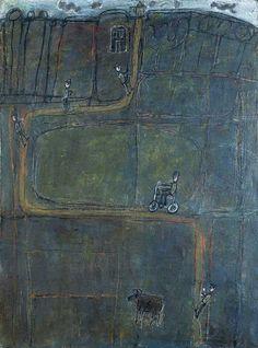 scottbergeyart: Jean Dubuffet