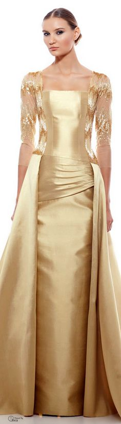 Georges Chakra ● Spring/Summer 2014 in white and gold! ~ CE♥