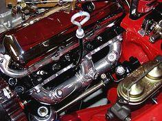 Holley 8007 390cfm carburetor on a modified Edelbrock