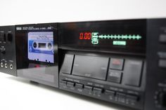 Yamaha K-640 RS - MP3 TapeLess Deck Project