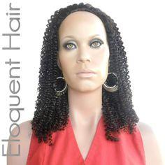 EloquentHair  - Caribbean Kinky Curl Half Wig(http://www.eloquenthair.com/caribbean-kinky-curl-half-wig/)