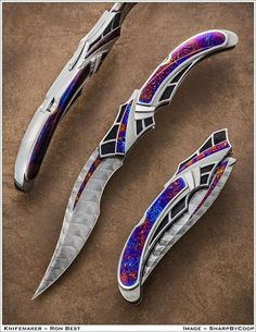 Ron Best Knives hand made it
