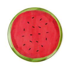 Watermelon hand mirror