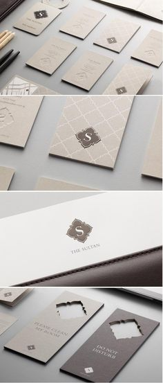 The Sultan Hotel branding/design. Work done under Manic Design.