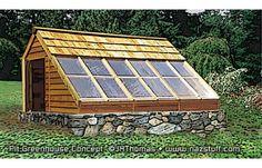 Sun-Pit Greenhouse / Passive Solar
