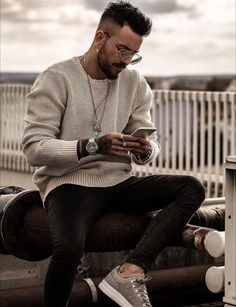 48 spring chic outfits for men& street style 38 - - Men Looks, Best Street Style, Street Styles, Style Masculin, Look Man, Autumn Fashion 2018, Mens Autumn Fashion, Herren Outfit, Mode Masculine