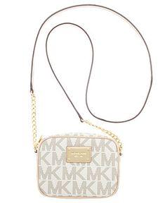 MICHAEL Michael Kors Handbag, MK Logo Crossbody - Shop All - Handbags & Accessories - Macy's