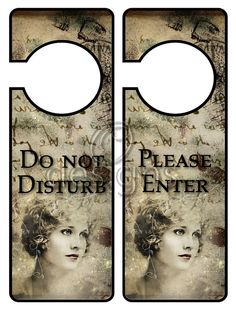 Door Hanger Signs No 2 Digital File by Odesigns on Etsy, Digital Business Card, Studio Cards, Door Hangers, Craft Supplies, Rest, Signs, Handmade Gifts, Crafts, Kid Craft Gifts