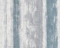 Schöner Wohnen Tapete, azurblau, verkehrsgrau, signalweiß, 10,05 m x 0,53 m, 944255, 94425-5