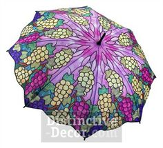 Galleria Vineyard Unbreakable Designer Rain Umbrella