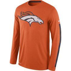 Nike Denver Broncos Women's Everyday Legend V-Neck Performance T-Shirt - Navy Blue