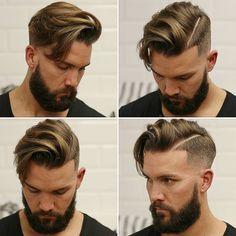 Men medium hairstyle
