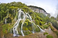 Cheap hotel rooms in France, best prices and cheap hotel rates on Hotellook Beautiful Waterfalls, Beautiful Landscapes, La Cascade, Destinations, France Travel, Landscape Photos, Beautiful Places, Scenery, Places To Visit