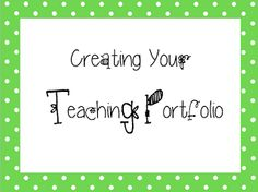 Pink Lips and Teaching Tips: A Teaching Portfolio