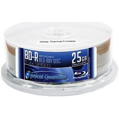 OPTICAL QUANTUM OQBDR04WTP 25GB 4XBD-R WHITE THERMAL HUB PRINTABLE 25PK by Optical Quantum. $28.07. Technical Information:Brand:Optical QuantumType:BD-RCapacity:ΝGBSpeed: [x ? 4x*Printable Surface:White Thermal Hub PrintablePackaging:Cake Box*This media can record up to 8x speed in certain 8x or higher speed Blu-ray burners, please refer compatibility list for more info.
