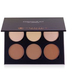 The premier contour and highlighting palette for professional makeup artists and makeup enthusiasts alike. Features 6 perfectly crafted highlighting and contouring powders for sculpting and defining y