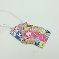 Custom Luggage Tag   Personalized Gift   Personalized Luggage Tag   Sorority Gift   Big Little Gift Monogram Gift by TheInspiredStudio on Etsy