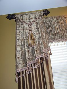 Beautiful valance/panels/drapes found @creationsfrommyheart.blog