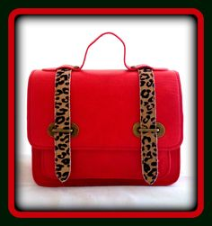 Red Mini Satchel