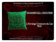 """Seasonfall creation - Troisième collection des 11 Artistes d'Everyday is Halloween for Us, sur le thème """"la brume, les flots, puis les ténèbres..."""" Toutes les infos en cliquant sur l'image!"""