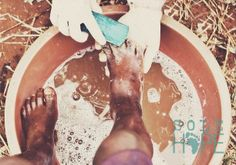 Washing feet is not only a big part of jigger removal clinics, but it is something we are called to do as humans. #solehope #solehopeuganda #ZEROjiggers