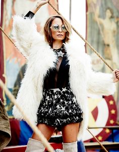 ELLE Australia: behind the scenes with Nicole Richie | Elle