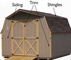 MidValley Structures: Sheds and Buildings- Available Colors Shed Storage, Sheds, Buildings, Barn, Outdoor Structures, Colors, Shed Houses, Converted Barn, Shed