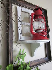 Today's Fabulous Finds: How to Make a Decorative Paned Window