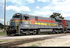 RailPictures.Net Photo: L&N 7001 Louisville & Nashville GE C30-7 at Unknown, South Carolina by TC Caughman