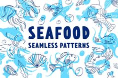 Vector patterns for menus, restaurants, shops, cafes and gift wrapping. Bright handcraft patterns will make your projects recognizable. This pattern contains Graphic Patterns, Graphic Design, Food Patterns, Fruit Pattern, Free Fonts Download, Vector Pattern, Visual Identity, Custom Design, How To Draw Hands