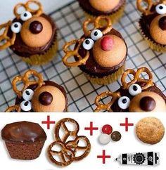 Bekijk de foto van Leannerp met als titel Super cute cupcakes voor de kerst en andere inspirerende plaatjes op Welke.nl.