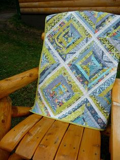 String Quilt - I love the fabric collection.