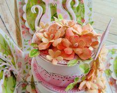 agnieszkapasjonata: 739. Urodzinowy torcik.... [Papier Czerpany] Cake, Desserts, Food, Tailgate Desserts, Deserts, Kuchen, Essen, Postres, Meals