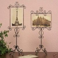 postcard frames - beautiful, vintage, can be for photos