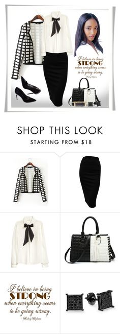 """""""Untitled #153"""" by jesslea85 ❤ liked on Polyvore featuring H&M and Monet"""