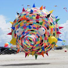 Fanø International Kite Fliers Meeeting is the largest Kite Festival in the world.