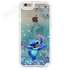 For iphone 6 Case NEW Beautiful Cute Mickey & Minnie Sparkle Glitter Liquid Stars Hard Cover Case For iphone 6s 6 plus 6s plus #iphone6splus,