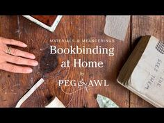 Bookbinding at Home Part 4: Materials and Meanderings Waldorf Crafts, Falling Apart, Book Making, Bookbinding, Bamboo Cutting Board, The Creator, Diy Projects, Stitch, Blog