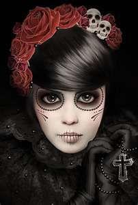 Dia de los Muertos...    by: autonoe.deviantart.com